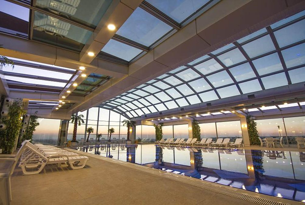 Retractable Glass Structures Solaglide