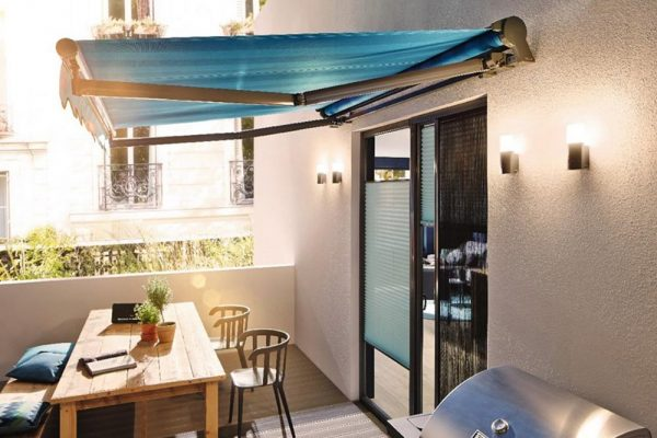 Retractable Fabric Awnings
